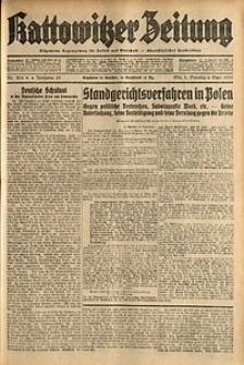 Kattowitzer Zeitung, 1931, Jg. 63, nr204