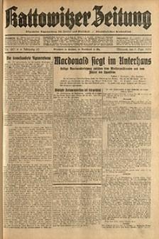 Kattowitzer Zeitung, 1931, Jg. 63, nr207