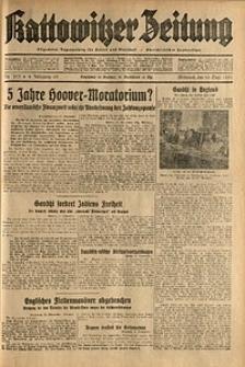 Kattowitzer Zeitung, 1931, Jg. 63, nr213