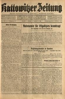 Kattowitzer Zeitung, 1931, Jg. 63, nr238