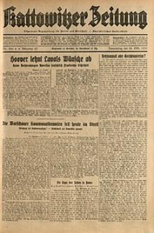 Kattowitzer Zeitung, 1931, Jg. 63, nr244