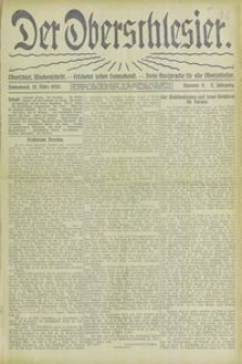 Der Oberschlesier, 1920, Jg. 2, Nr. 11