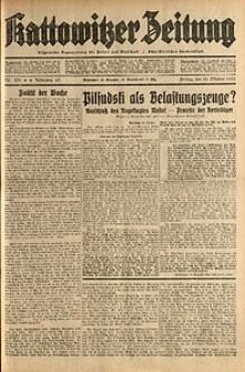 Kattowitzer Zeitung, 1931, Jg. 63, nr251