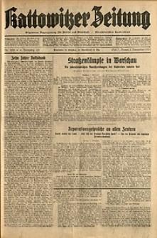 Kattowitzer Zeitung, 1931, Jg. 63, nr258