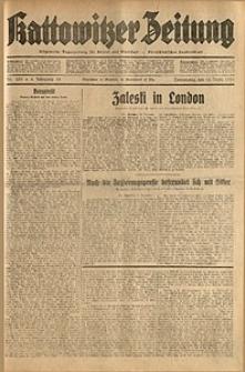Kattowitzer Zeitung, 1931, Jg. 63, nr285