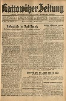 Kattowitzer Zeitung, 1931, Jg. 63, nr290