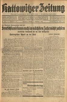 Kattowitzer Zeitung, 1931, Jg. 63, nr297