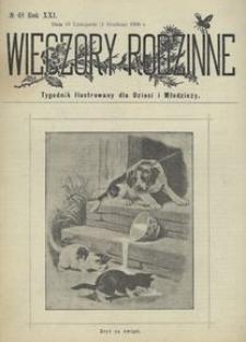 Wieczory Rodzinne. Tygodnik Ilustrowany dla Dzieci i Młodzieży 1900, nr 48