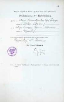 Akt zawarcia małżeństwa z 4.01.1910 r.