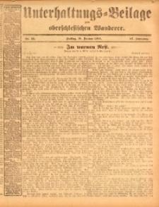 Unterhaltungs-Beilage zum oberschlesischen Wanderer, 1914, Jg. 87, nr12