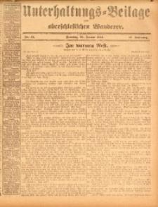 Unterhaltungs-Beilage zum oberschlesischen Wanderer, 1914, Jg. 87, nr15