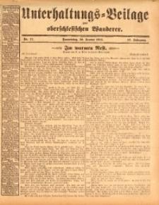 Unterhaltungs-Beilage zum oberschlesischen Wanderer, 1914, Jg. 87, nr17