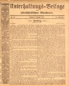 Unterhaltungs-Beilage zum oberschlesischen Wanderer, 1914, Jg. 87, nr29