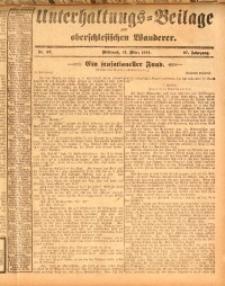 Unterhaltungs-Beilage zum oberschlesischen Wanderer, 1914, Jg. 87, nr57
