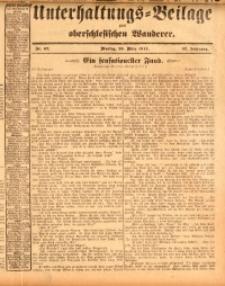 Unterhaltungs-Beilage zum oberschlesischen Wanderer, 1914, Jg. 87, nr67