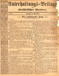 Unterhaltungs-Beilage zum oberschlesischen Wanderer, 1914, Jg. 87, nr74
