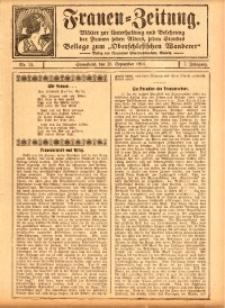 Frauen-Zeitung, 1914, Jg. 7, nr 13