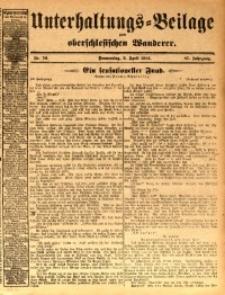 Unterhaltungs-Beilage zum oberschlesischen Wanderer, 1914, Jg. 87, nr76