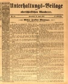 Unterhaltungs-Beilage zum oberschlesischen Wanderer, 1914, Jg. 87, nr94