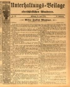 Unterhaltungs-Beilage zum oberschlesischen Wanderer, 1914, Jg. 87, nr97