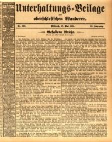 Unterhaltungs-Beilage zum oberschlesischen Wanderer, 1914, Jg. 87, nr120