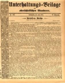 Unterhaltungs-Beilage zum oberschlesischen Wanderer, 1914, Jg. 87, nr133