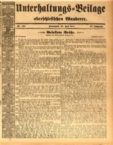 Unterhaltungs-Beilage zum oberschlesischen Wanderer, 1914, Jg. 87, nr139