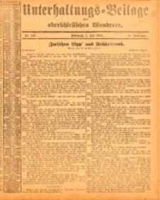 Unterhaltungs-Beilage zum oberschlesischen Wanderer, 1914, Jg. 87, nr147