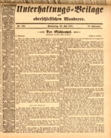 Unterhaltungs-Beilage zum oberschlesischen Wanderer, 1914, Jg. 87, nr166
