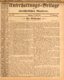 Unterhaltungs-Beilage zum oberschlesischen Wanderer, 1914, Jg. 87, nr169