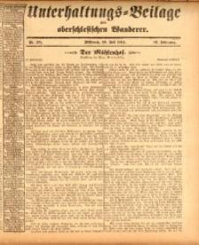 Unterhaltungs-Beilage zum oberschlesischen Wanderer, 1914, Jg. 87, nr171