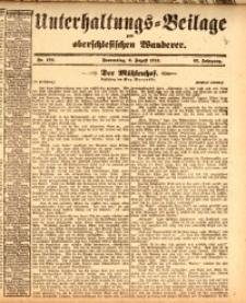 Unterhaltungs-Beilage zum oberschlesischen Wanderer, 1914, Jg. 87, nr178