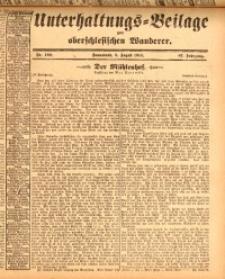 Unterhaltungs-Beilage zum oberschlesischen Wanderer, 1914, Jg. 87, nr180