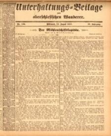 Unterhaltungs-Beilage zum oberschlesischen Wanderer, 1914, Jg. 87, nr189