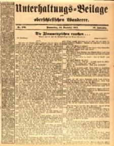 Unterhaltungs-Beilage zum oberschlesischen Wanderer, 1914, Jg. 87, nr296
