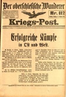 Kriegs-Post, 1914, Jg. 1, nr112