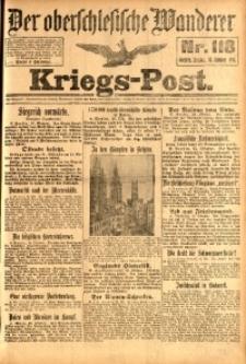 Kriegs-Post, 1914, Jg. 1, nr118