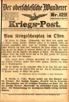 Kriegs-Post, 1914, Jg. 1, nr129
