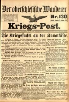 Kriegs-Post, 1914, Jg. 1, nr130