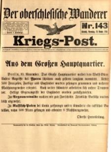 Kriegs-Post, 1914, Jg. 1, nr144
