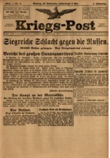 Kriegs-Post, 1914, Jg. 1, nr6