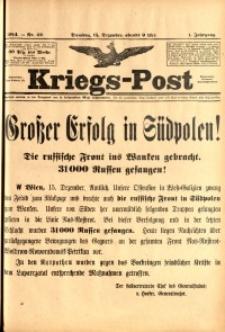 Kriegs-Post, 1914, Jg. 1, nr42
