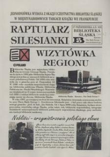 Raptularz Silesianki, 17 października 2000