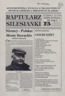 Raptularz Silesianki, 4 czerwca 2001