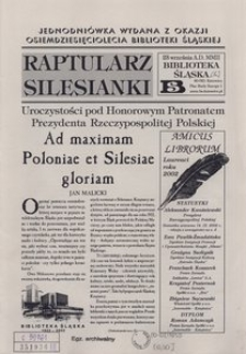 Raptularz Silesianki, 23 czerwca 2002