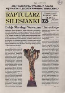 Raptularz Silesianki, 25 listopada 2004