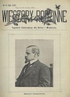 Wieczory Rodzinne. Tygodnik Ilustrowany dla Dzieci i Młodzieży 1900, nr 52