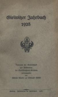 Gleiwitzer Jahrbuch, 1928