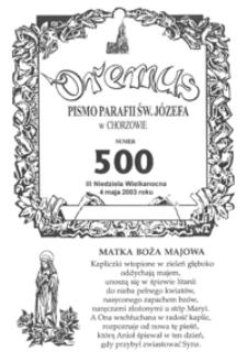 Oremus, 2003, R.10, nr18 (500)