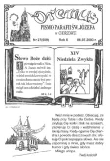 Oremus, 2003, R.10, nr27 (509)